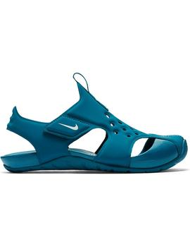 chancla Niño Nike Sunray Protect 2 (PS) Azul