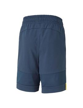 Short Niño Puma Alpha Jersey B Dark Denim